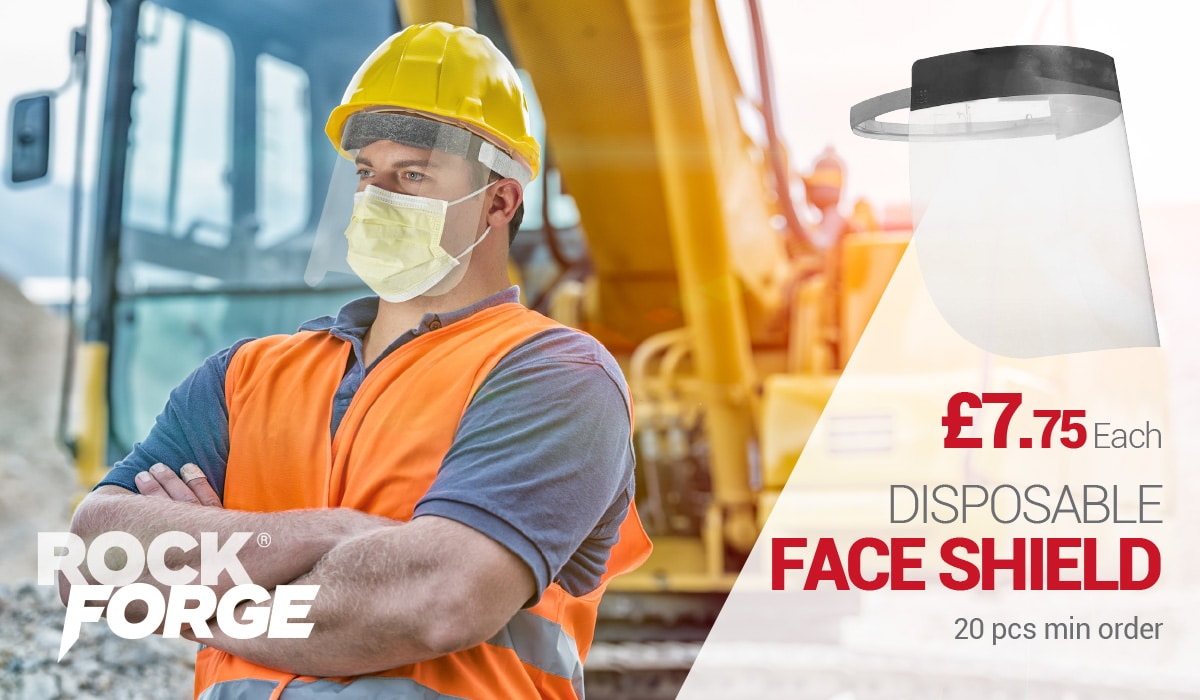 Covid Safety at Work - Face Shields